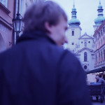 Downtown Prague on shoot for Gasoline.