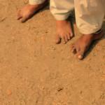 Barefoot soccer in Bangladesh.