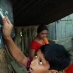 Nurnabi learns how to write in English- the dream he always had.