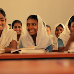 Young girls enjoy going to school, but there are many barriers that keep them from staying in school.